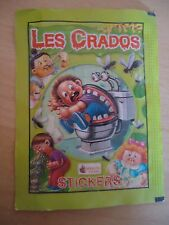 POCHETTE VIDE * Les CRADOS 3 * 2004 album card Sticker Garbage Pail Kid FRANCE