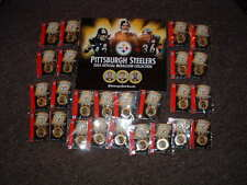 2005 Pittsburgh Steelers 25 Medallions Collection Team Set NFL