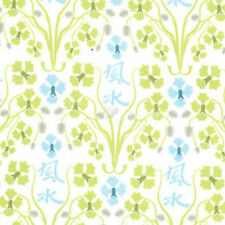 Sanctuary Orchid Feng Shui Seafoam by Patty Young for Michael Miller, 1/2 yard