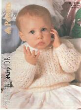Vintage Patons Knitting Pattern No 8110  Sweater in DK Size 16-22 in