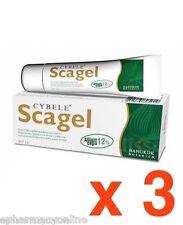 CYBELE SCAGEL 3 x 19g gel - Scar Acne Keloid - FREE SHIPPING
