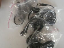 BGC-0450 BYSTAT GROUND CORD 8' - QTY 7 -  NEW SNAP END AND PLUG ON OTHER END
