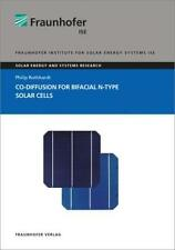 PHILIP ROTHHARDT - CO-DIFFUSION FOR BIFACIAL N-TYPE SOLAR CELLS