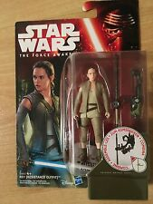 Star Wars The Force Awakens REY STARKILLER BASE3.75-Inch Figure 10cm JEDI