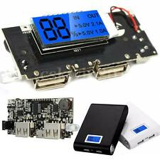 Dual USB 5V 1A 2.1A Mobile Power Bank 18650 Battery Charger PCB LCD Display DIY