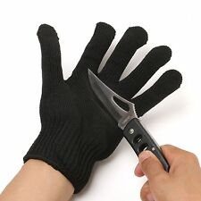 1Pcs Fishing Polyester & Stainless Steel Fillet Cut Resistant Glove OUTDOOR TR
