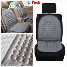 Car SUV Seat Mat Cover Therapy Massage Bubble Padded Chair Seat Cushion Pad Grey