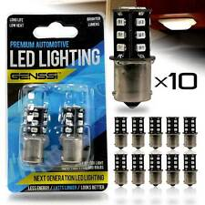 10X Warm White ULTRSMD RV Camper Trailer LED 1156 1141 1003 Interior Light Bulbs