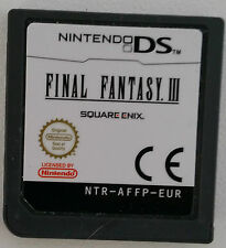 Final Fantasy III  (Nintendo DS Cartridge only)