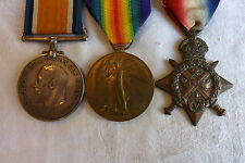 Original Military WWI 1914 Mons Star Medal Group Trio 1 East Kent Regiment (2219
