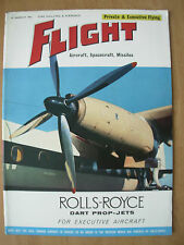FLIGHT AIRCRAFT SPACECRAFT MISSILES MAGAZINE MARCH 23rd 1961 ROLLS-ROYCE JETS