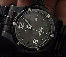 Renato Men's T-Rex Gen II L.E. Swiss Made ETA 2824 Automatic Black SS Watch