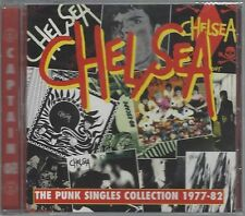 CHELSEA - THE PUNK SINGLES COLLECTION - 1977-82 - (still sealed cd) - AHOY CD 98