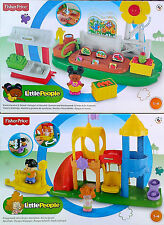 Fisher Price-Little People-Granja Jardín Y Soporte + juegos Playset