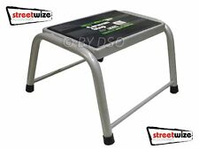 Streetwize Heavy Duty Single Caravan Step Steel Construction