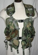 US Military Issue Enhanced Tactical Load Bearing Camo Vest Camouflage