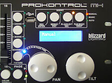Blizzard ProKontrol MH DMX Lighting Controller for Moving Head Wash/Spot w/ RDM
