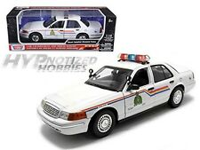 MOTORMAX 1:18 2001 FORD CROWN VICTORIA - ROYAL CANADIAN POLICE DIE-CAST  73503
