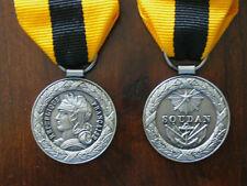 Médaille commémorative du SOUDAN 1892 .livrée avec ruban - Refrappe de qualité