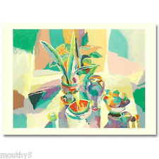 "MICHAEL GORBAN ""STILL LIFE WITH WATERMELON"" SERIGRAPH SIGNED/NUMBERED W/COA"