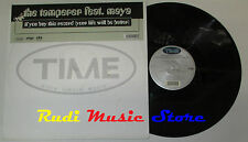LP THE TAMPERER FEAT MAYA if you buy this 45 rpm 12'' 1998 italy TIME cd mc dvd