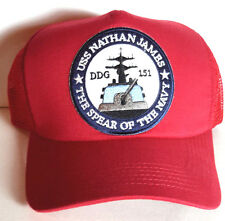 USS Nathan James- Last Ship TV Series Baseball Cap/Hat-Red- FREE S&H (LSHA-RED)