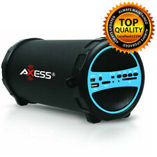 Bluetooth Portable Speaker Wireless Bass Stereo Black Pc New Tablet Rechargeable