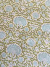 "Tilda Fabric NEW Bumblebee ""Garden Bees Green"" 100% cotton fabric"