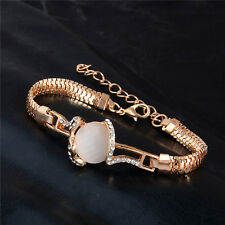 Lovely New Style Austrian Crystal Opal 18K gold filled Women's Bracelet