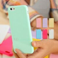 Silicone Cute Candy Rubber Gel Tpu Case Cover for iphone 4/4s 5/5s 5c/6 6 plus