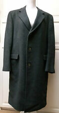 Malcolm kenneth 100% mongolian cashmere long manteau taille Turman & reynolds ltd 44