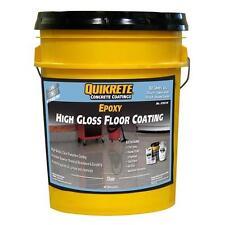 No.Qk07035 Quikrete Premium 2-Part Epoxy Clear High-Gloss Garage Floor Coating