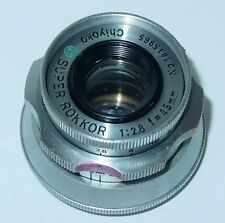 Super Rokkor Chiyoko 45mm f2.8 Lens - Leica Thread Mount SM #1415965