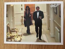 James Bond Archives 2014 Gold Foil Parallel Card 058 064/125 Casino Royale