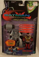 Batman Beyond Return Of The Joker Deluxe Golden Armor Mobile Assault Vehicle MOC