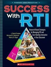 Success with RTI: Research-Based Strategies for Managing RTI and Core Reading In