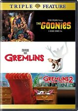 THE GOONIES + GREMLINS + GREMLINS 2 THE NEW BATCH New 3 DVD Triple Feature