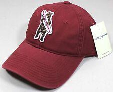 NWT Lucky Brand California Surfboard Bear Red Baseball Hat Cap Adjustable