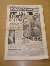 MELODY MAKER 1958 DECEMBER13 KENNY BAKER WEST SIDE STORY COUNT BASIE EVERLYS +