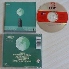 RARE CD ALBUM CRISES MIKE OLDFIELD 6 TITRES MADE IN UK VIRGIN CD VIP 118 1983
