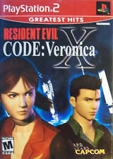 Resident Evil: Code Veronica X [PlayStation 2 PS2, NTSC Video Game] Brand NEW