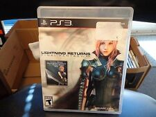 Lightning Returns: Final Fantasy XIII (Sony PlayStation 3, 2014)