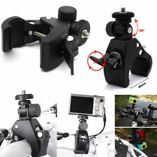 New Bike Handlebar Mount 1/4 screw Clamp Bracket Tripod for Camera DV DSLR
