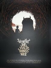 Matt Taylor – Where the Wild Things Are Poster Print Mondo Artist