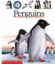 Scholastic First Discovery: Penguins by Scholastic, Scholastic Inc., Good Book