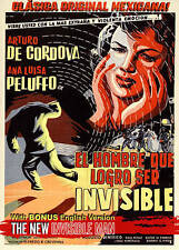 The New Invisible Man (DVD, 2015)