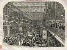 Crystal Palace London England The Great Exhibition Dalziel 1851 Photo Print A4