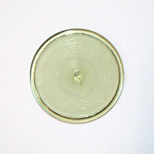 Glasbutzen 8cm eisengelb grün  Butzenglas Butzenscheiben Tiffany Glass Rondel B2