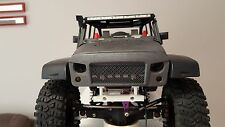 RC scale New Bright Jeep wrangler JK Rubicon body Angry bird eye grill frontmash