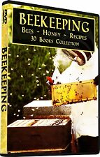 30 Beekeeping Books, Honey Bees, Bee, Hives, Apiculture, Apiary, Beekeeper DVD